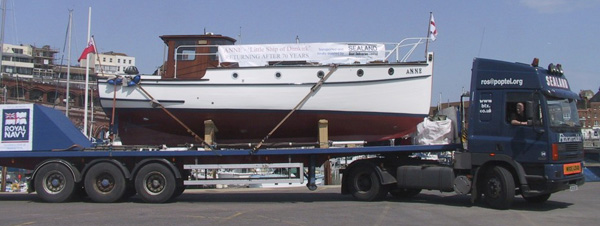 Sealand Boat Deliveries deliver to Ramsgate